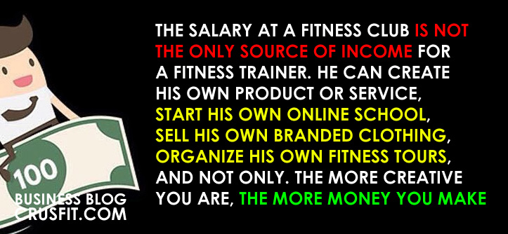 how much does a fitness trainer earn