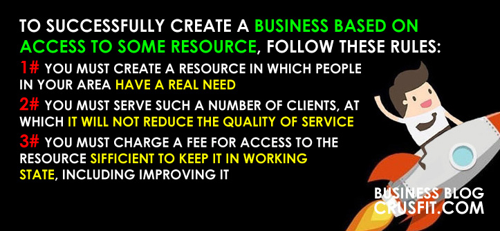 how to earn money on access to the resource