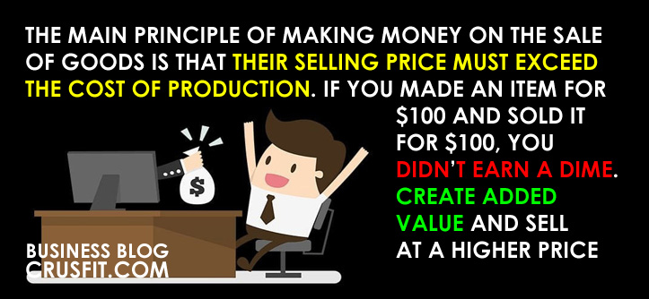 how to earn by selling goods